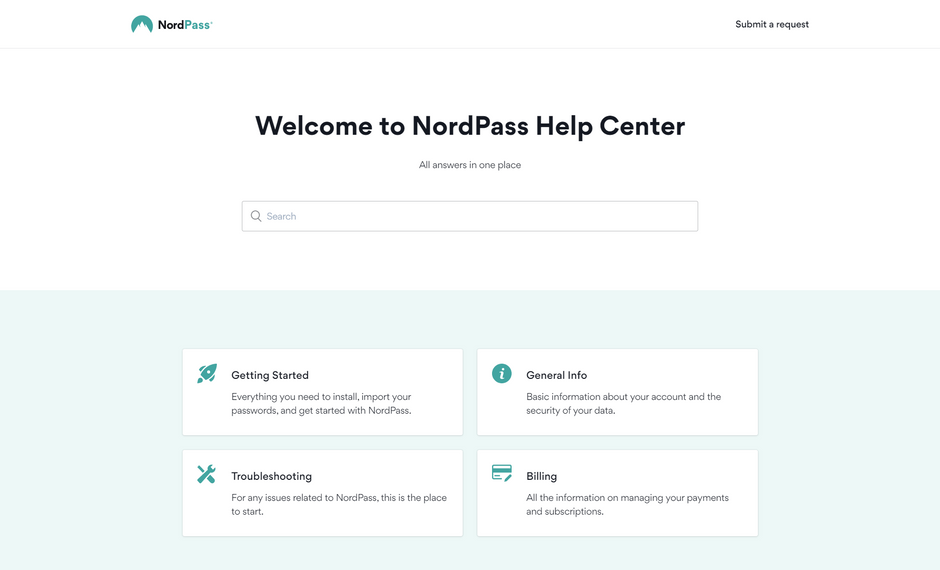 NordPass Help Center