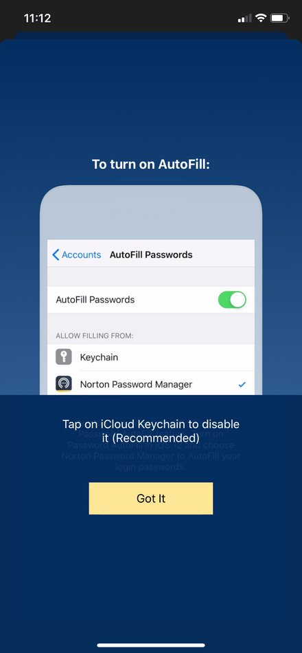 Norton Password Manager Mobile Auto-Fill Tutorial